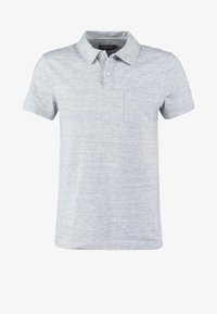Koszulka polo - light blue melange