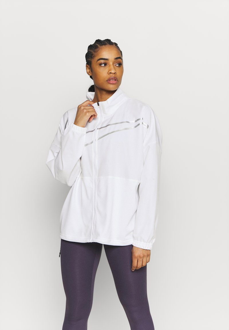 Nike Performance - Training jacket - white/metallic silver