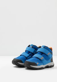 Jack Wolfskin - MTN ATTACK 3 TEXAPORE MID  - Hiking shoes - blue/orange