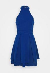 WAL G. - CHERYL HALTER NECK SKATER DRESS - Jersey dress - cobalt blue - 3