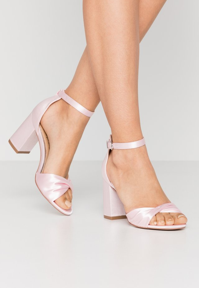 DEB - High heeled sandals - candy pink