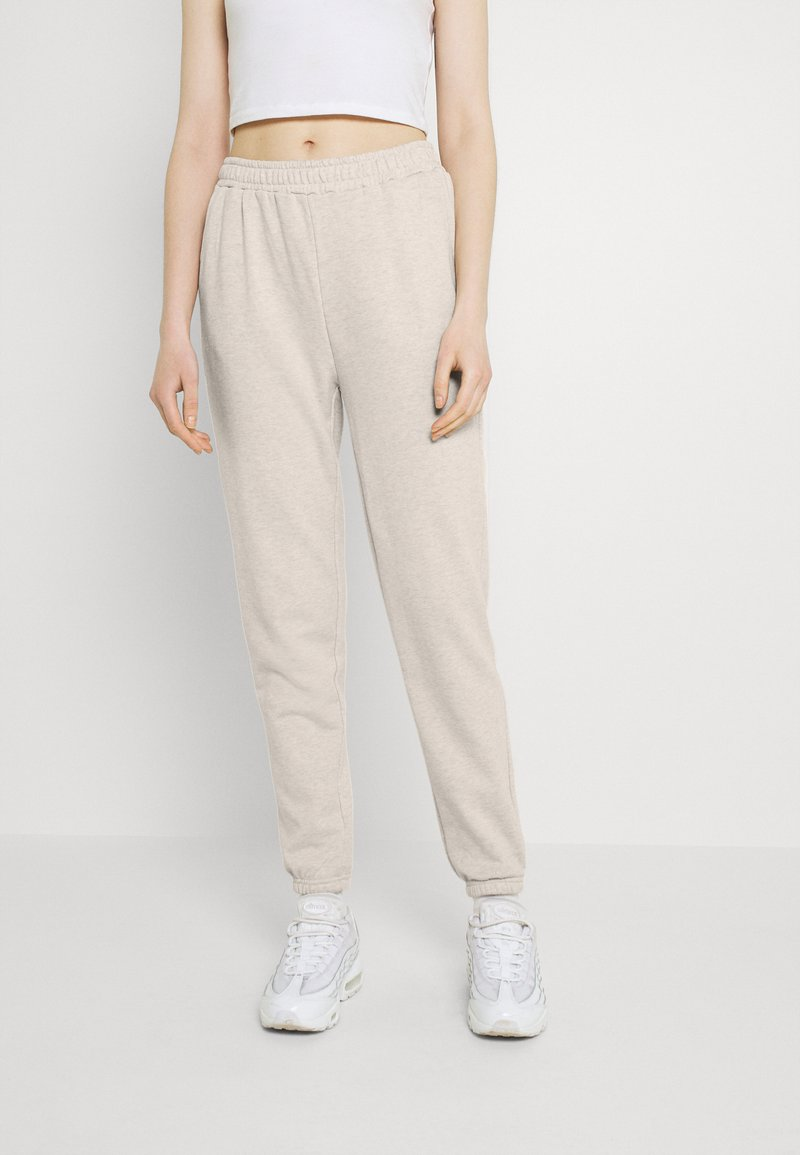 Even&Odd - Regular Fit Jogger - Pantalon de survêtement - white