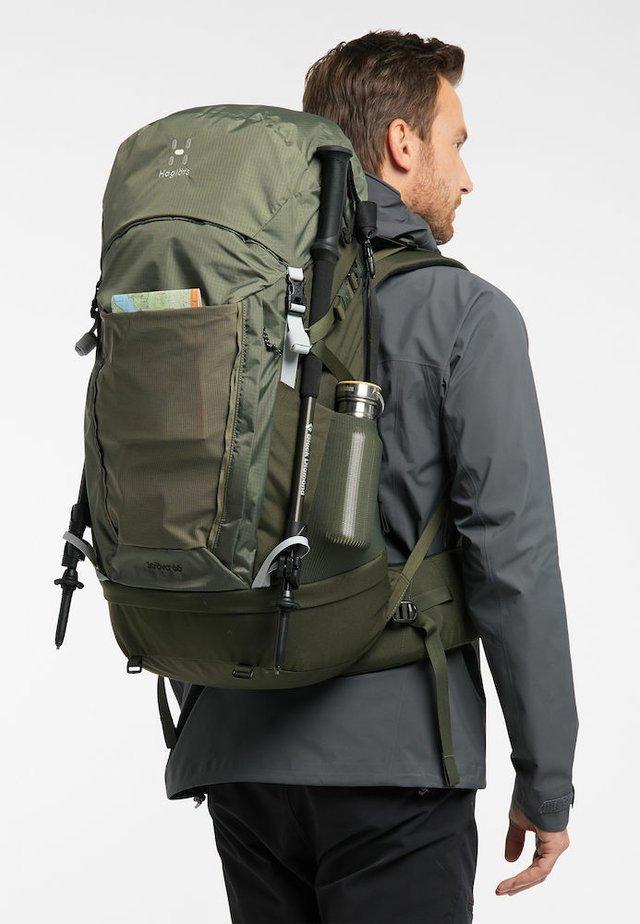 STRÖVA - Backpack - sage green/deep woods
