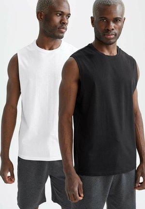 2 PACK  - Linne - white/black