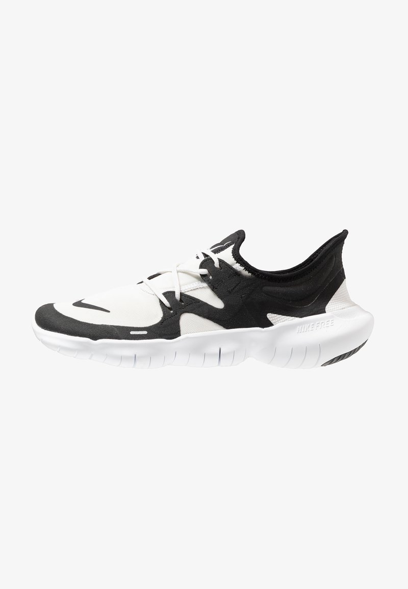 Nike Performance - FREE RN 5.0 - Minimalist running shoes - white/black