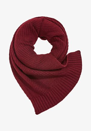 Scarf - bordeaux red