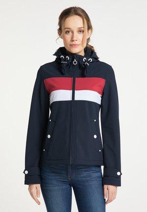 Outdoor jacket - nachtblau rot