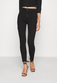 New Look - CLEAN DISCO KIND - Jeansy Skinny Fit - black - 0
