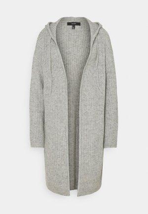 VMSUMA HOOD - Cardigan - light grey melange