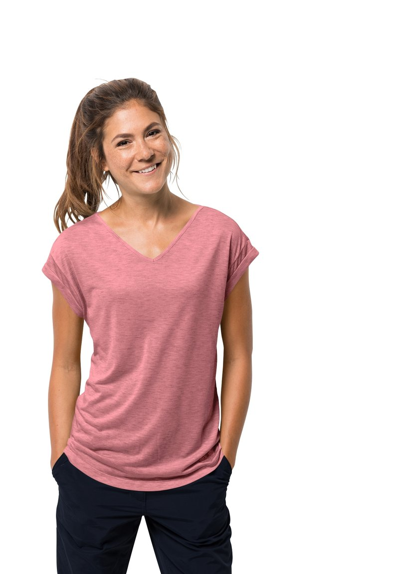 Jack Wolfskin - Basic T-shirt - rose quartz