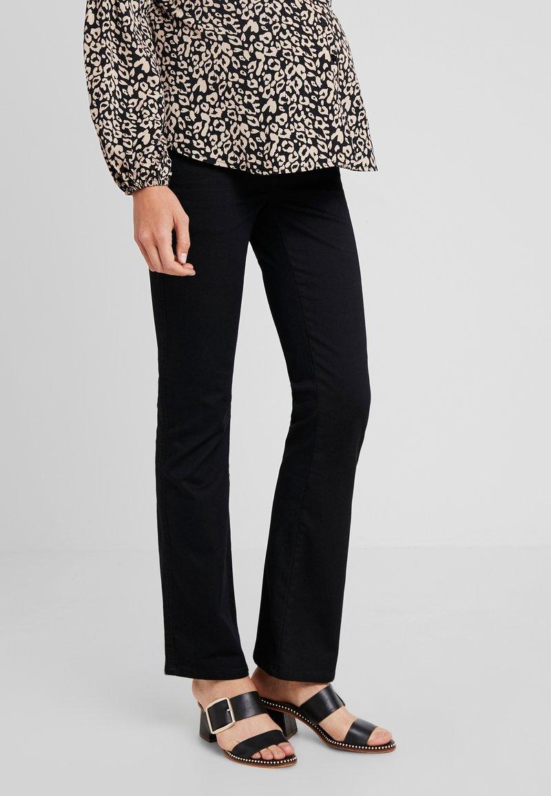 LOVE2WAIT - PANTS JUDY - Bootcut jeans - black