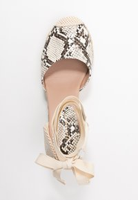 New Look - TRINIDAD - High heeled sandals - stone niu - 3
