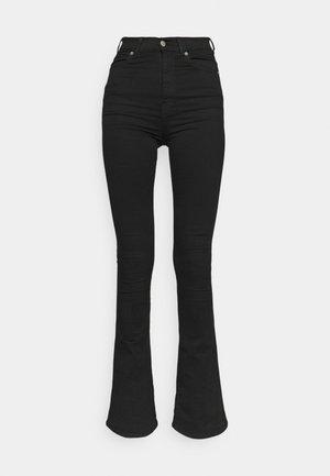 MOXY - Zvonové džínsy - black