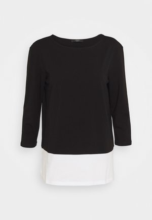 MULTIA - Long sleeved top - schwarz
