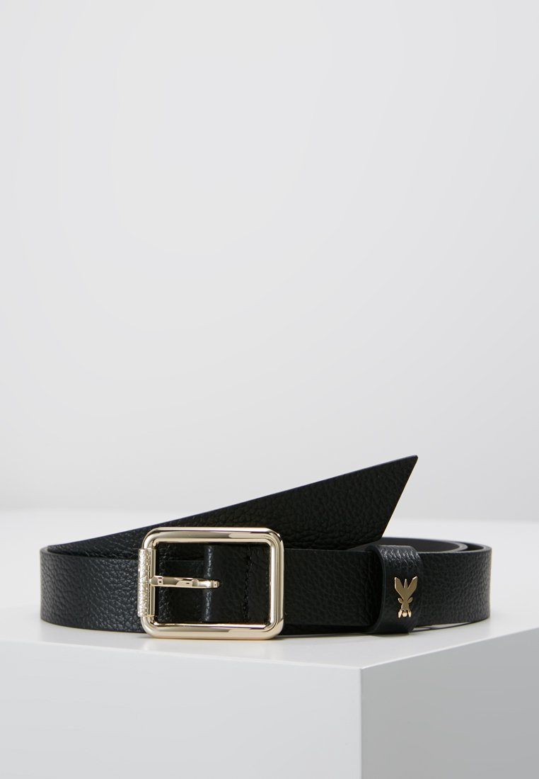 Patrizia Pepe - BASIC BELT - Ceinture - nero/gold