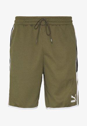 ICONIC - Shorts - burnt olive