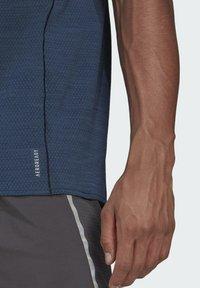adidas Performance - RUNNER T-SHIRT - Print T-shirt - blue - 3