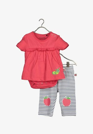 APPLE OF MY EYE - Leggings - Trousers - light red