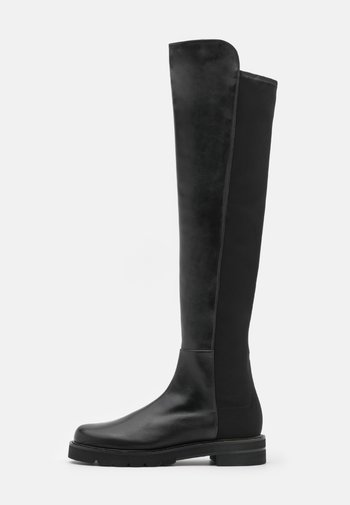 LIFT - Overknee laarzen - black