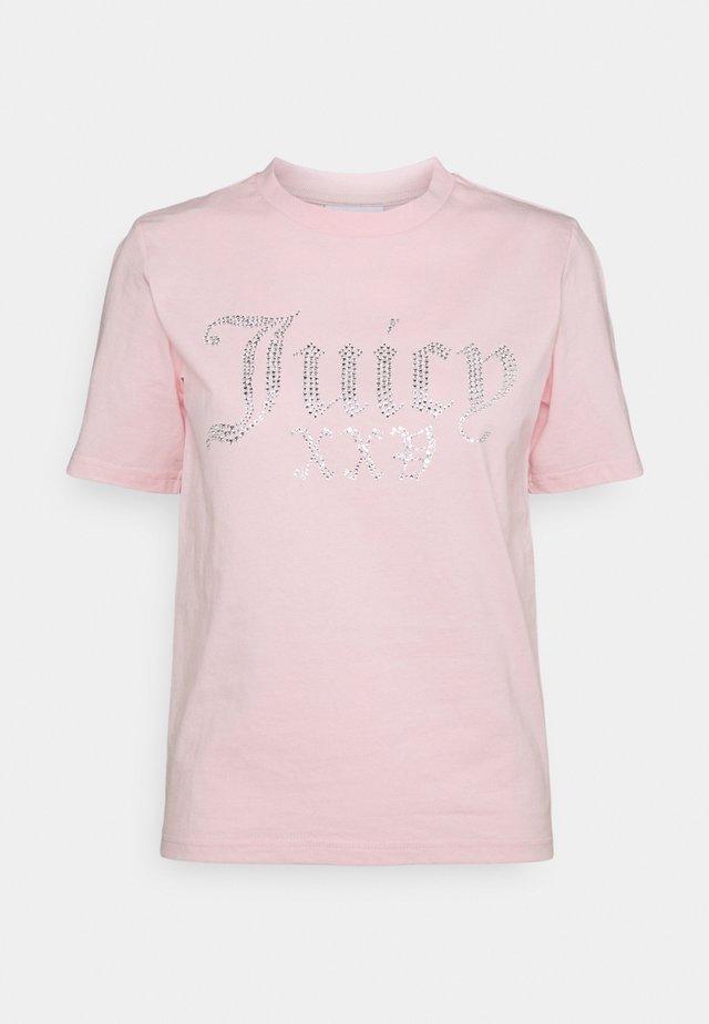 JUICY NUMERAL - T-shirt print - pink
