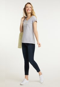 Schmuddelwedda - Print T-shirt - light gray melange - 1