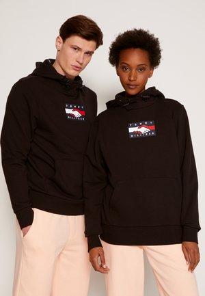 ONE PLANET HOODY UNISEX - Sweatshirt - black