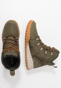 Columbia - FAIRBANKS OMNI-HEAT - Winter boots - nori/canyon gold - 1
