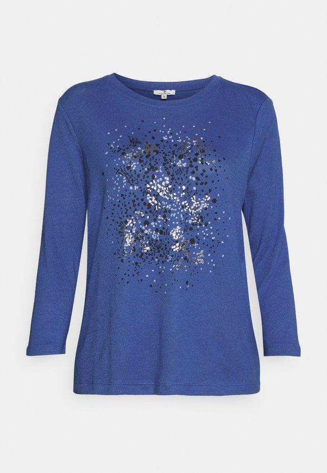 FRONTPRINT - Sweter - deep ultramarine blue