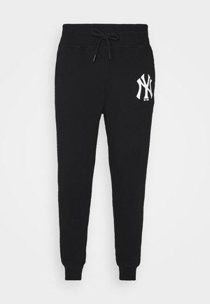 NEW YORK YANKEES PANTS - Trainingsbroek - jet black