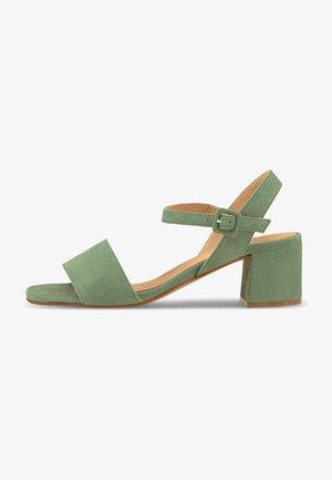 Sandals - mittelgrün
