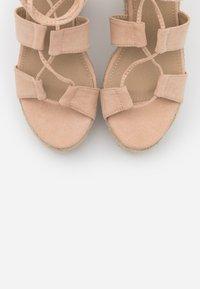 EGO - HATTIE - Sandalen met hoge hak - nude - 5
