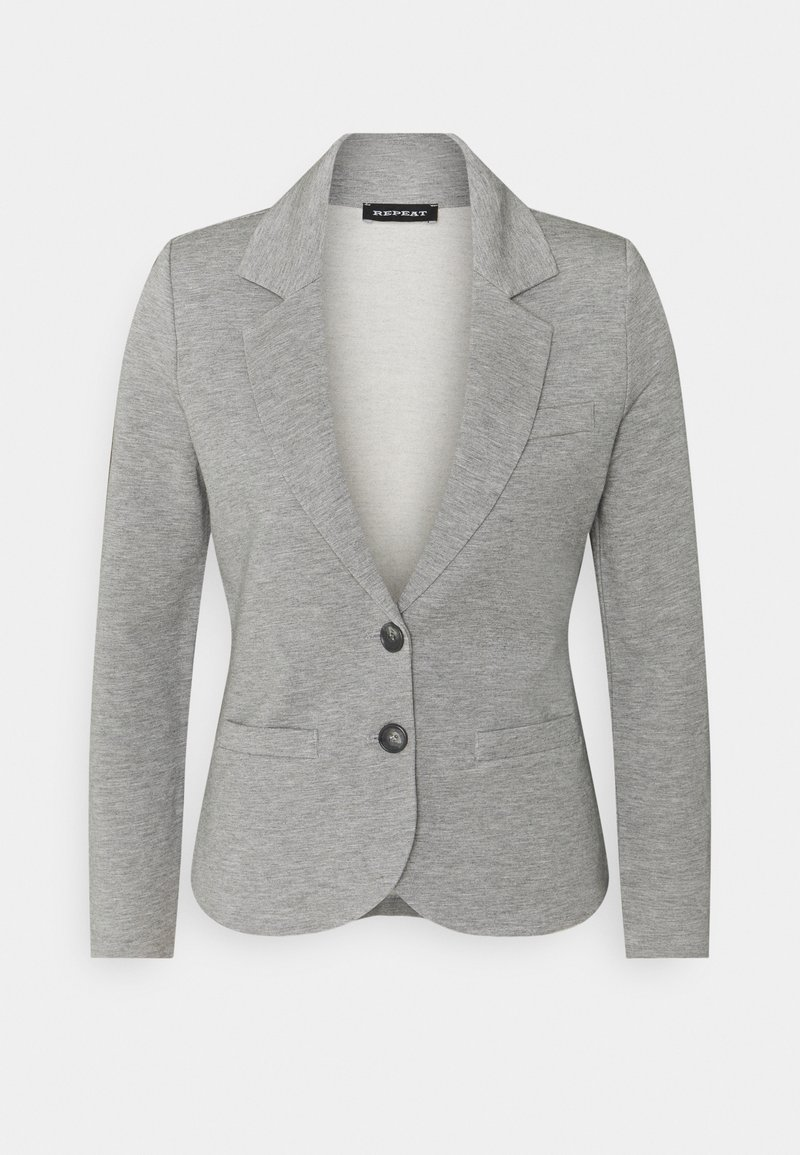 Repeat - BLAZER - Blazer - grey