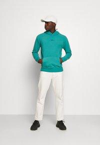Hollister Co. - SOLID SCRIPT - Sweatshirt - green blue - 1