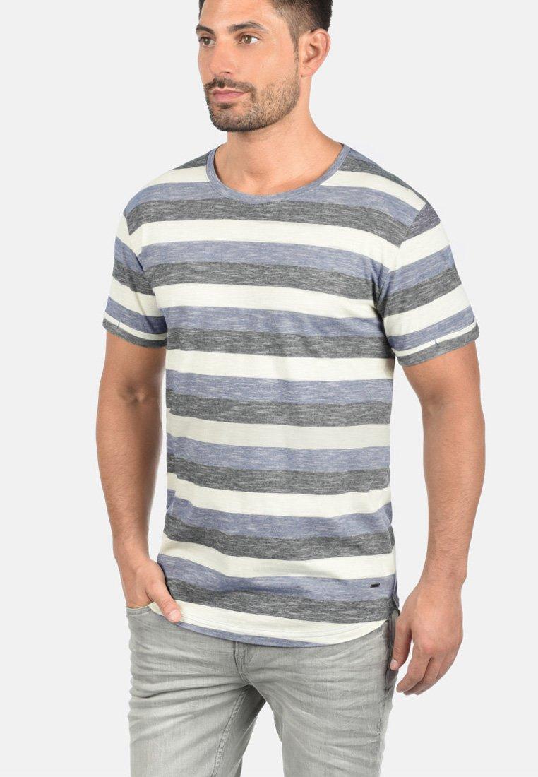 Solid - RUNDHALSSHIRT THICCO - Print T-shirt - marlin