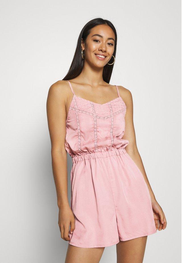 INDIE CAMI PLAYSUIT - Tuta jumpsuit - pink