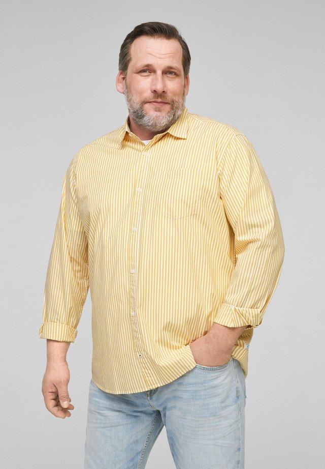 Shirt - yellow stripes