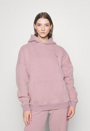 LOGOHOODIE - Sweatshirt - stonepurple