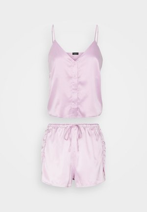 FLOWER SHORTY SET - Pyjamas - lilac