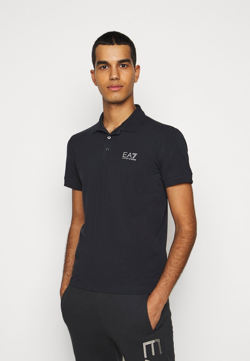 EA7 Emporio Armani - Poloshirts - night blue