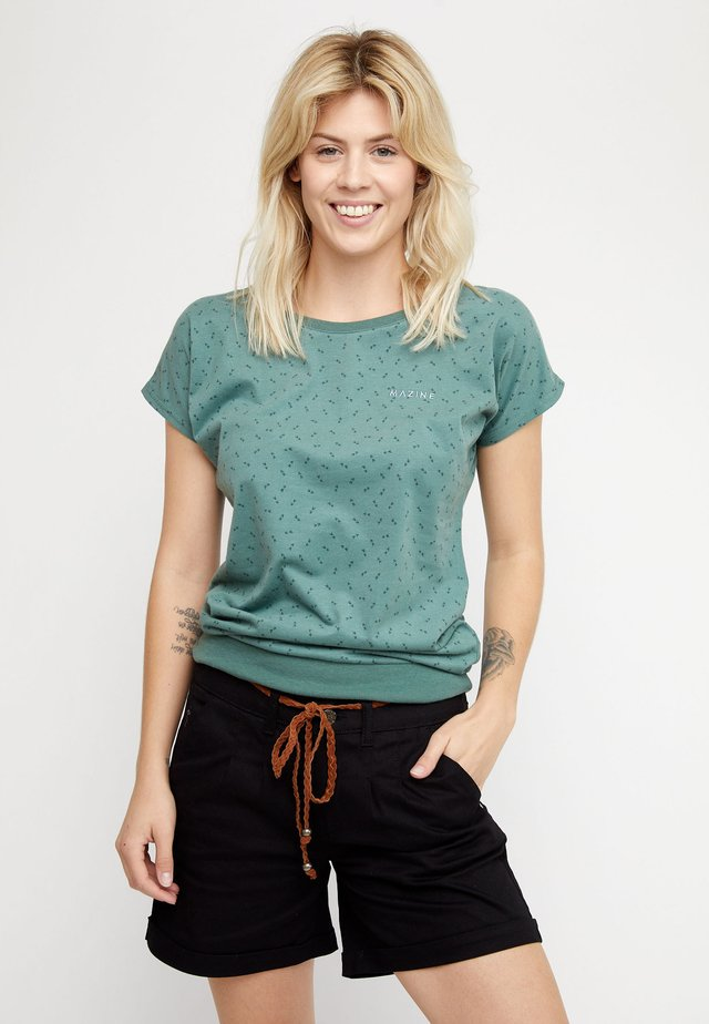 DERRY - Print T-shirt - forest/printed