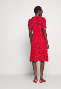 LK Bennett - MALAMI - Day dress - geranium/macadamia - 2