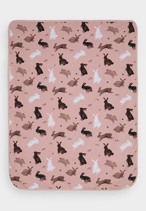BLANKET RABBIT UNISEX - Baby blanket - pink