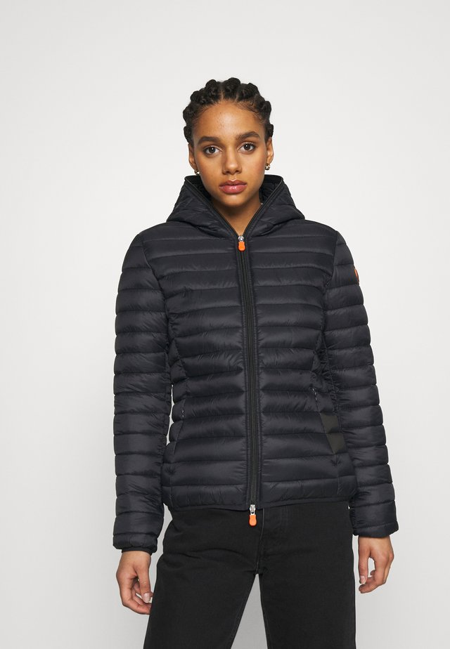 GIGA DAISY HOODED JACKET - Light jacket - black