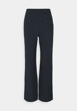 PANTALONI - Trousers - slate blue