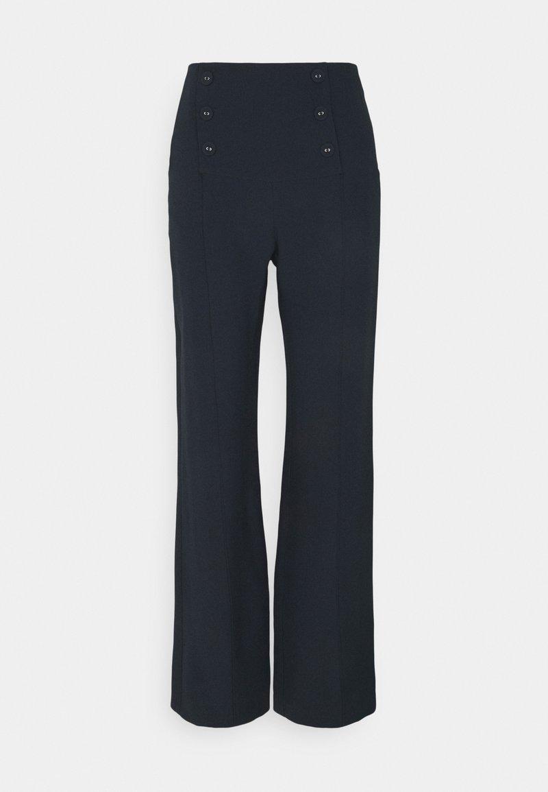 Patrizia Pepe - PANTALONI - Trousers - slate blue