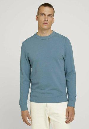 Sweatshirt - smokey aqua
