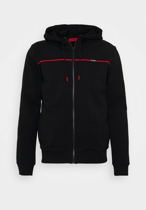 DAPIE - veste en sweat zippée - black