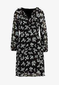 Wallis - HEART FLORAL BUTTON DRESS - Sukienka letnia - mono - 3