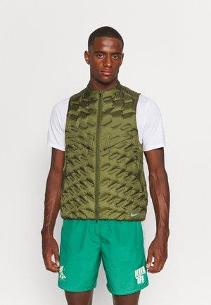 Waistcoat - rough green