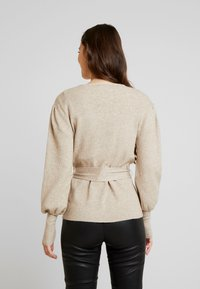 Vila - Cardigan - natural melange - 2